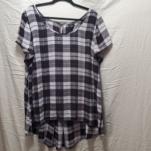Torrid baby doll style blouse